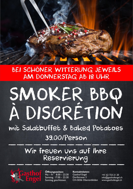 SMOKER BBQ À DISCRETION