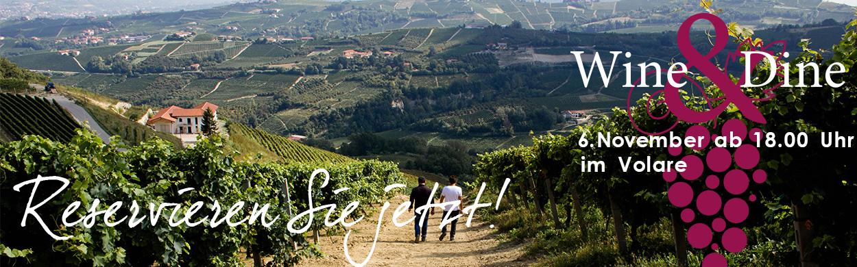 Wine & Dine mit Roberto Sarotto