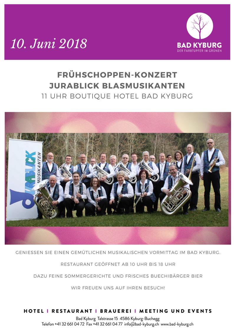 Frühschoppen-Konzert Jurablick Blasmusikanten