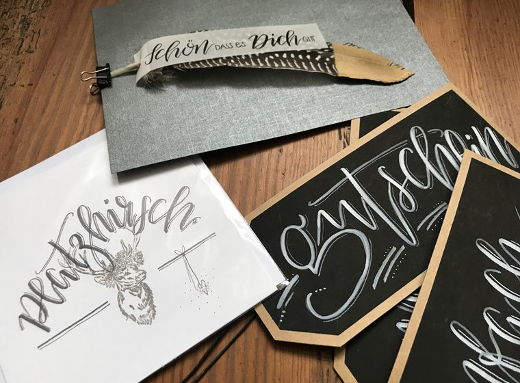 Handlettering & Brushing Workshop
