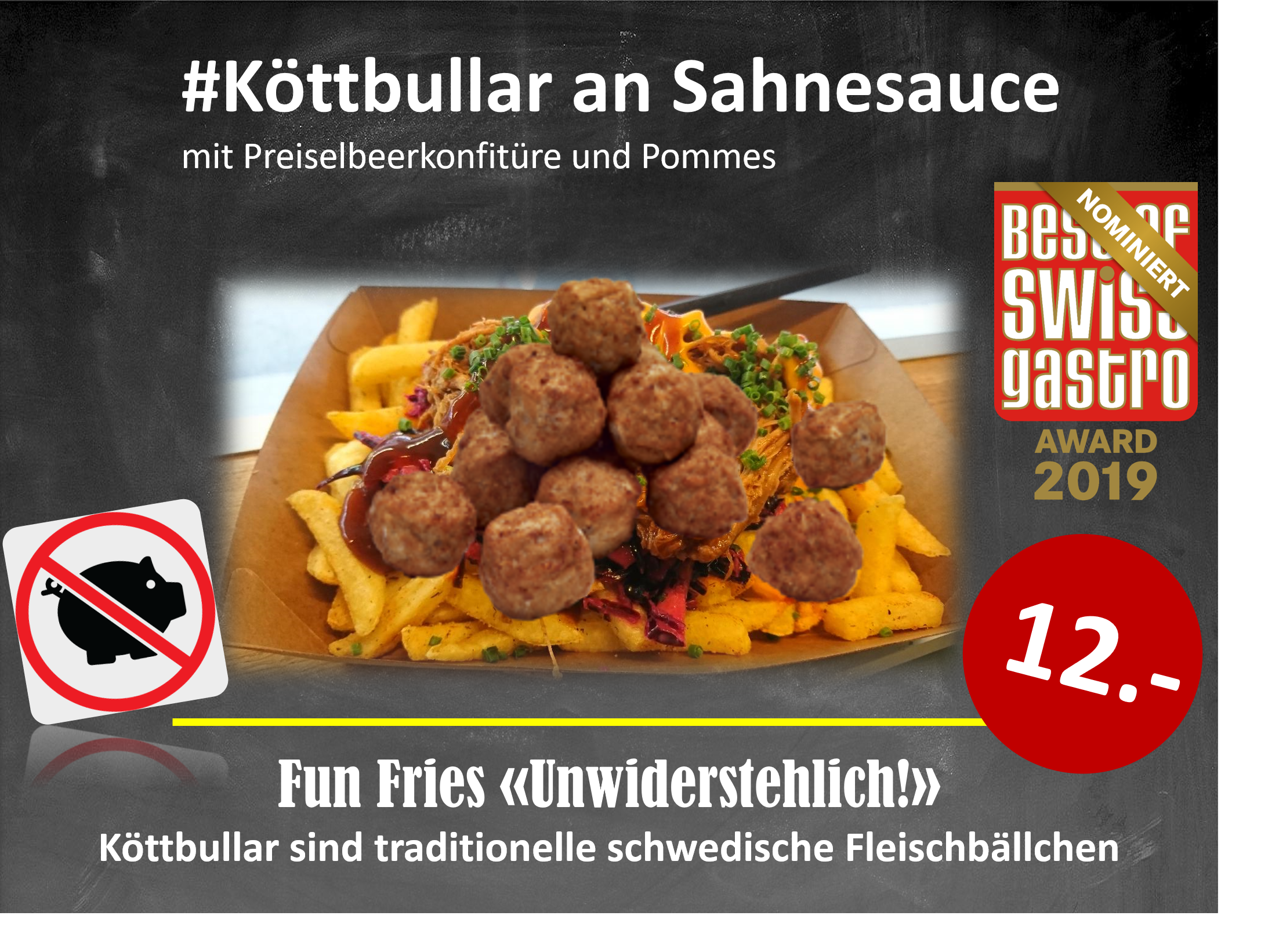 Köttbullar die leckeren Hackfleischbällchen aus Schweden!