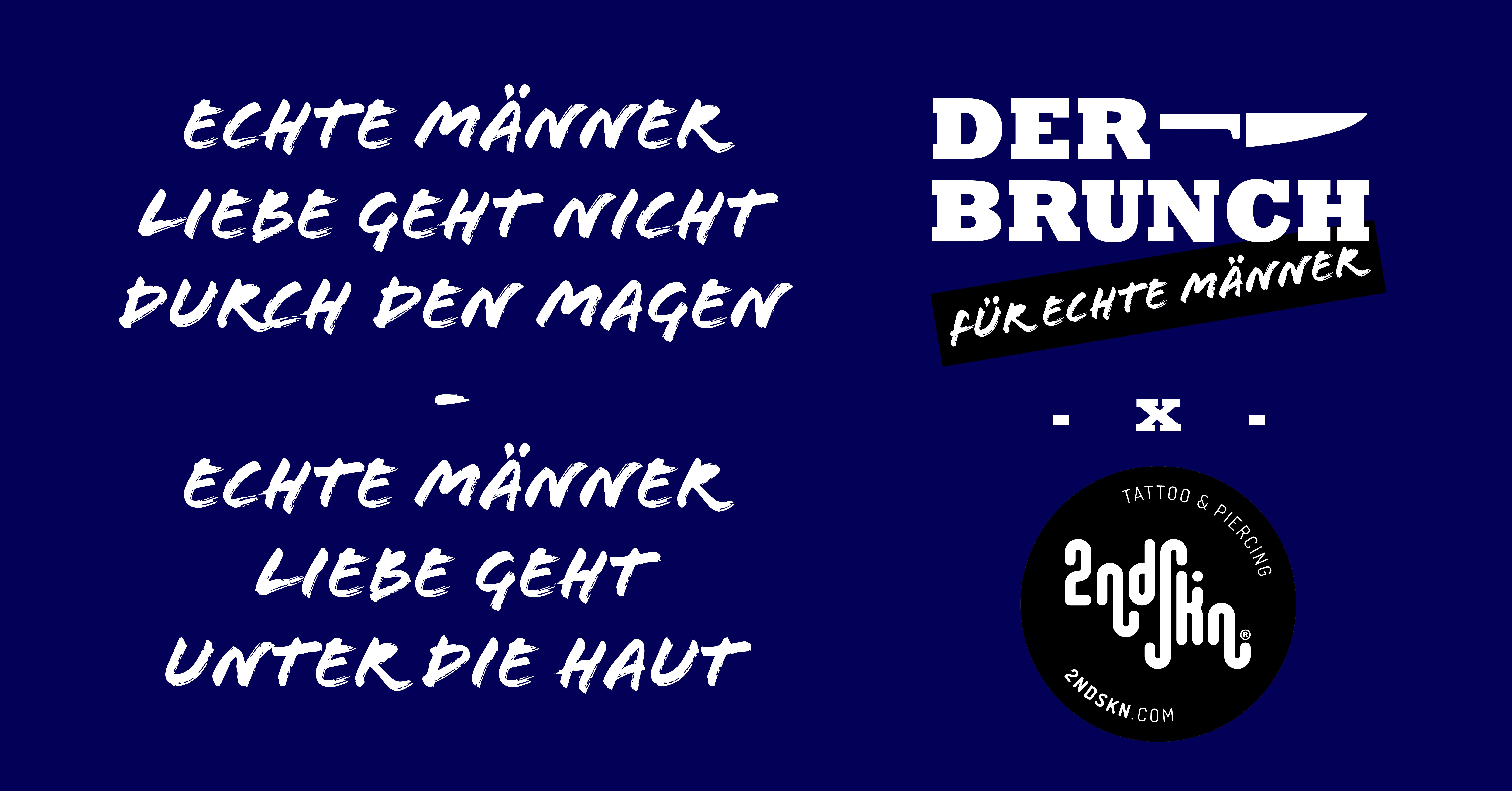 """Der Brunch für """"echte"""" Männer - Tattoo Edition"""