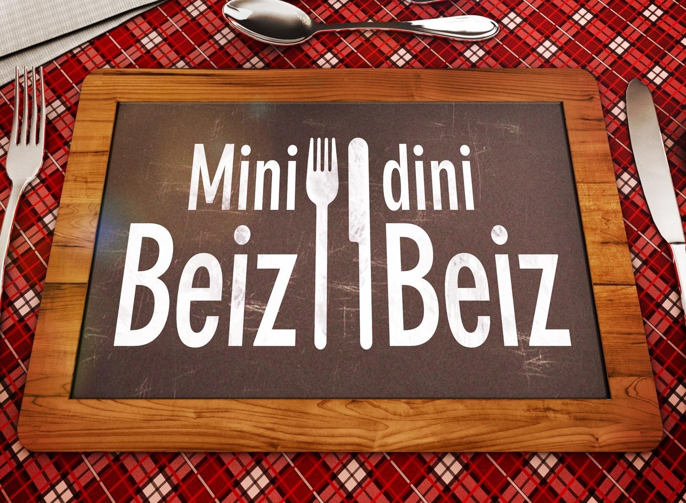 Schöne Erinnerungen an «Mini Beiz, dini Beiz»