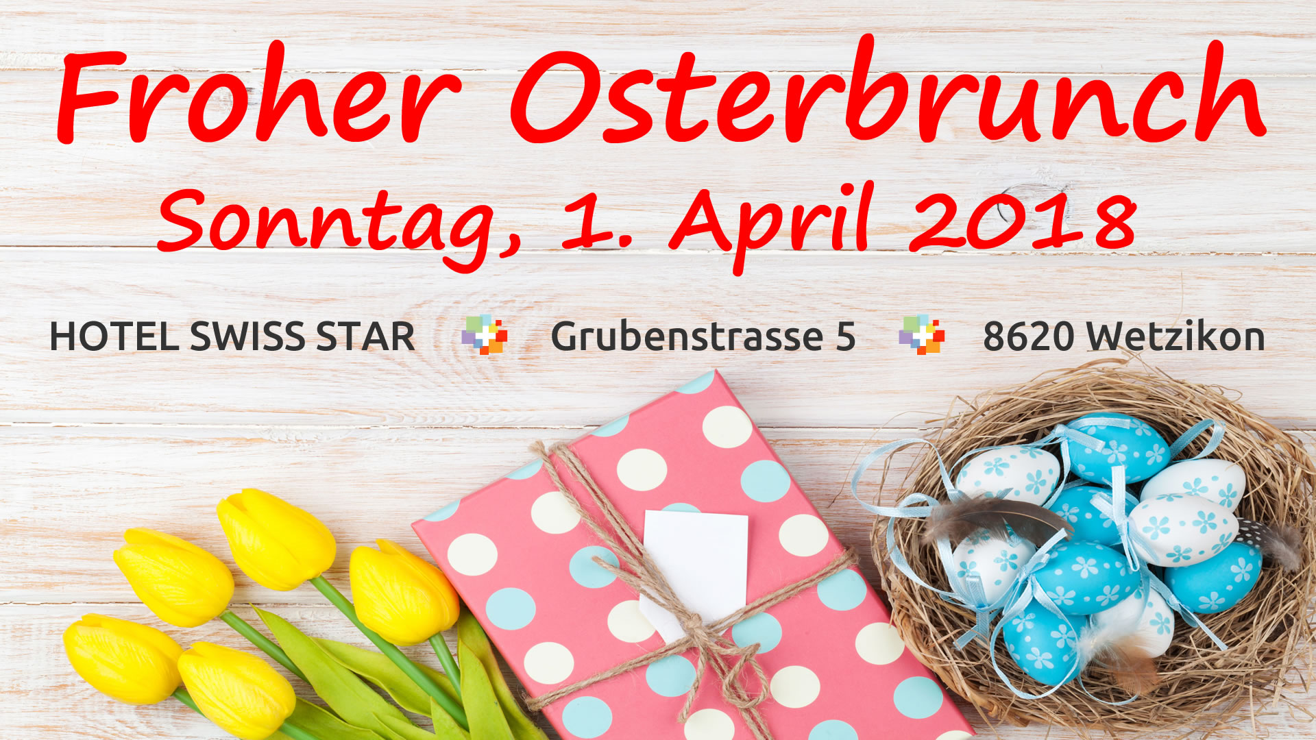 Froher Osterbrunch