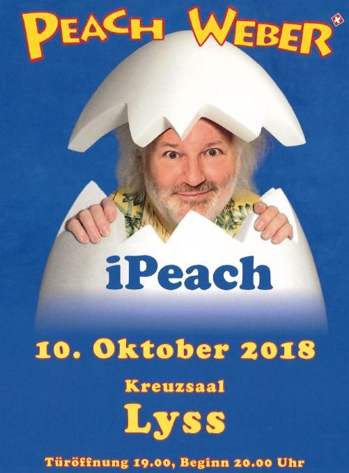 10. Oktober iPeach, Peach Weber