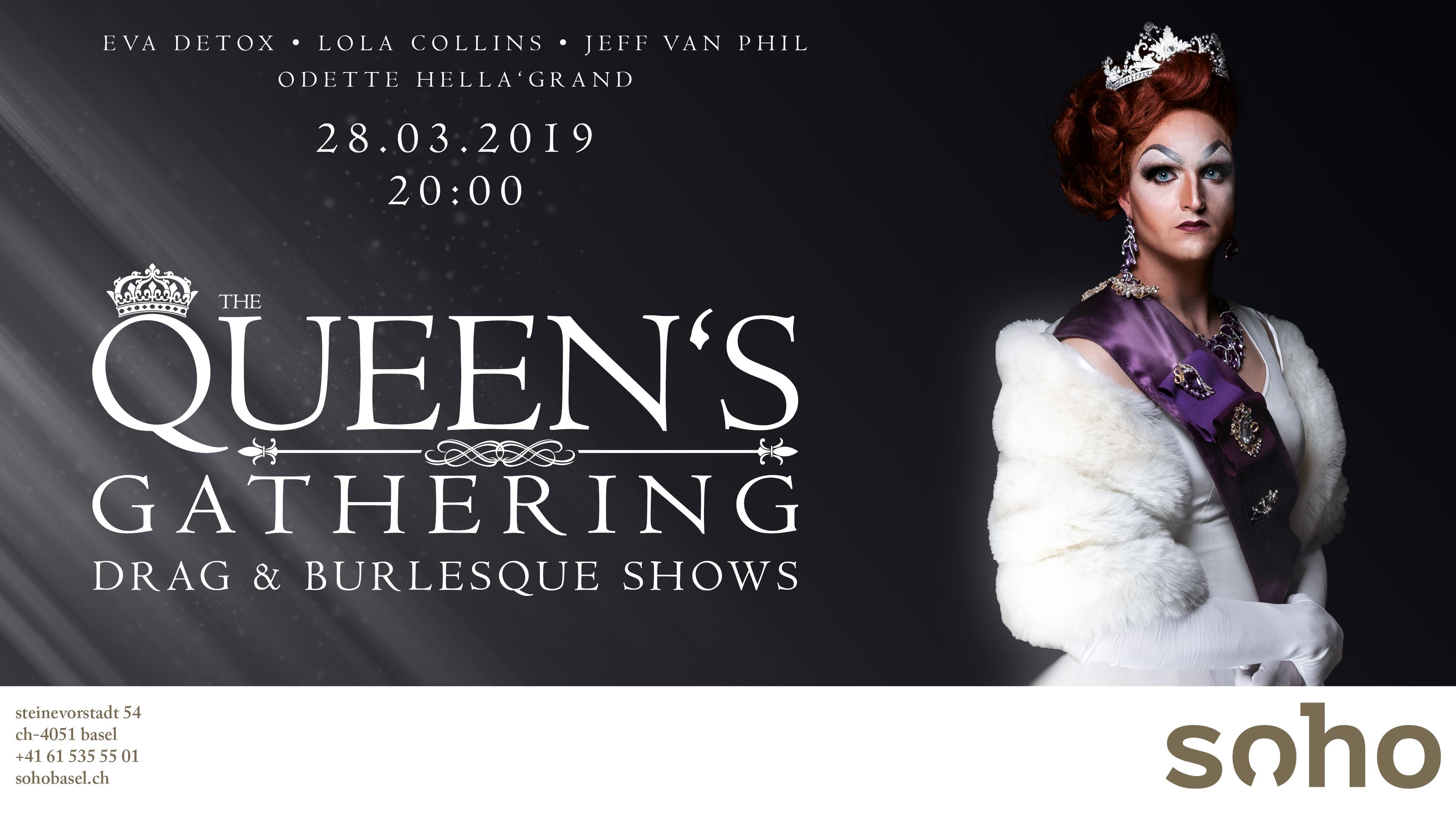 Queen's Gathering - Drag Queen & Burlesque Show