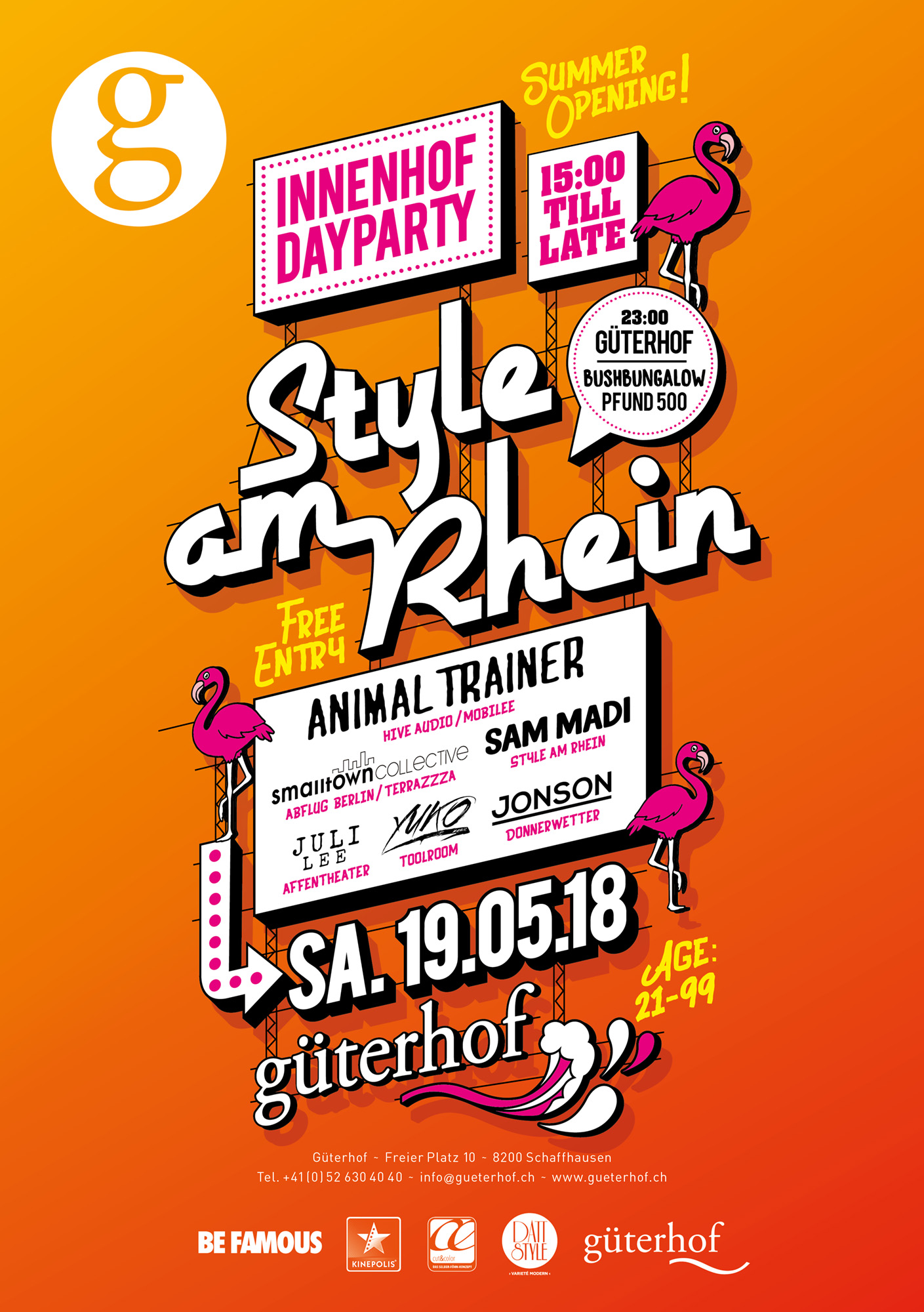 Style am Rhein Summer Opening Day Party