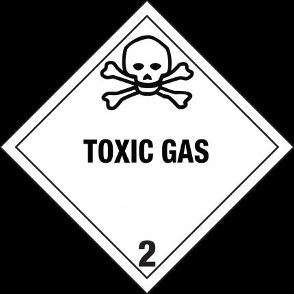 2.3, TOXIC GAS, 250x250mm