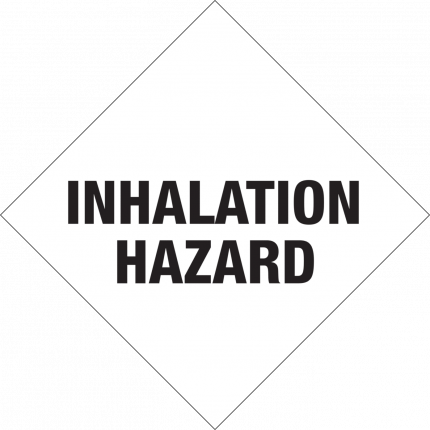 Inhalation Hazard, 250x250mm