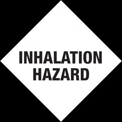 Inhalation Hazard, 250x250mm