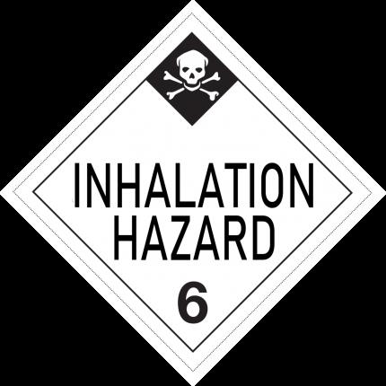 USA - INHALATION HAZARD, 250x250mm