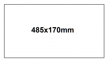 AP - KA/BOX etiqueta- 485x170mm