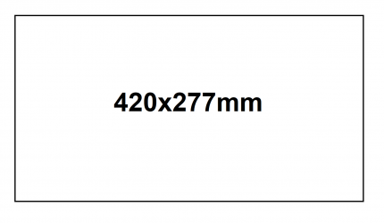 GHS Product Label 1 - 420x297mm