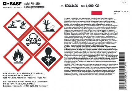 DIN A6 - Abfall RN 42560, Artikelnummer 50648406,148x105mm
