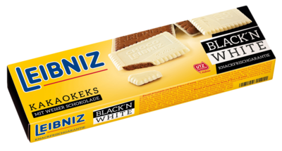 Small 5393 leibniz choco black white 125g