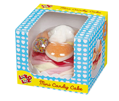 Small 5661 mini candy cake blauweb