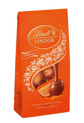 Small 6206 lindt lindor orange web