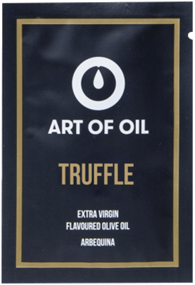 Small 6809 art of oil truffle web