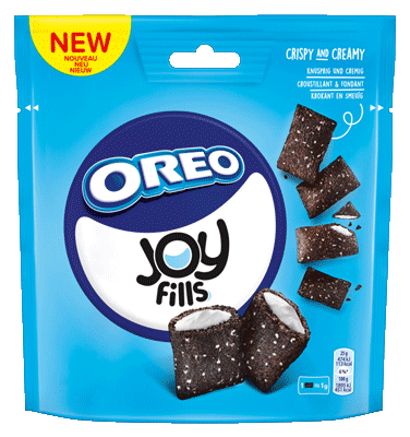 Small oreo joy fills web