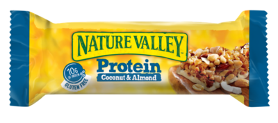 Small nature valley protein kokosnuss mandel