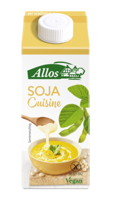 Small allos soja cuisine vegan