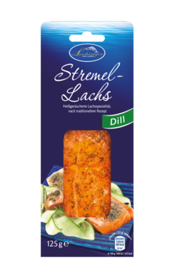 Small laschinger stremellachs dill