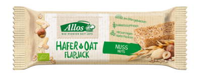 Small allos hafer oat nuss flapjack