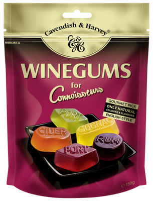 Small ch 180g winegums