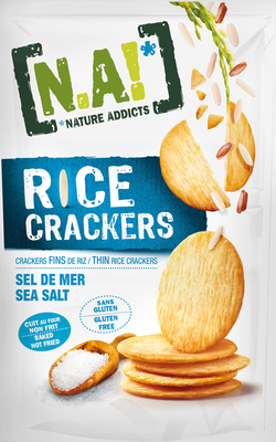 Small na rice crackers meersalz