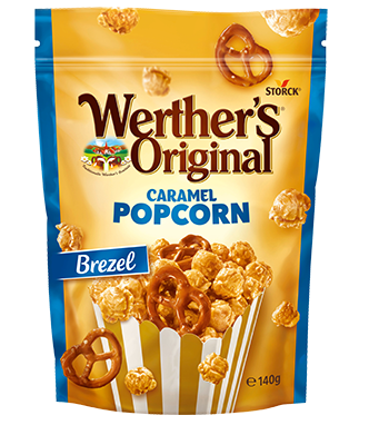 Small werthers popcorn brezel