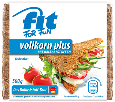 Fit For Fun Vollkorn Plus mit Ballaststoffen