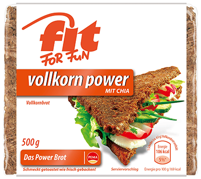 Fit For Fun Vollkorn Power mit Chia