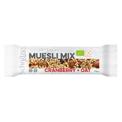 Bio Muesli Mix Cranberry + Oat