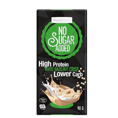 NO SUGAR ADDED High Protein White Hazelnut Crisp