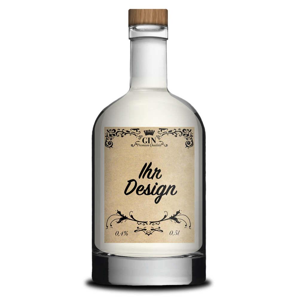 Ginflasche personalisiert