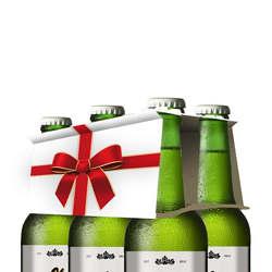 Sechsertraeger bier motiv