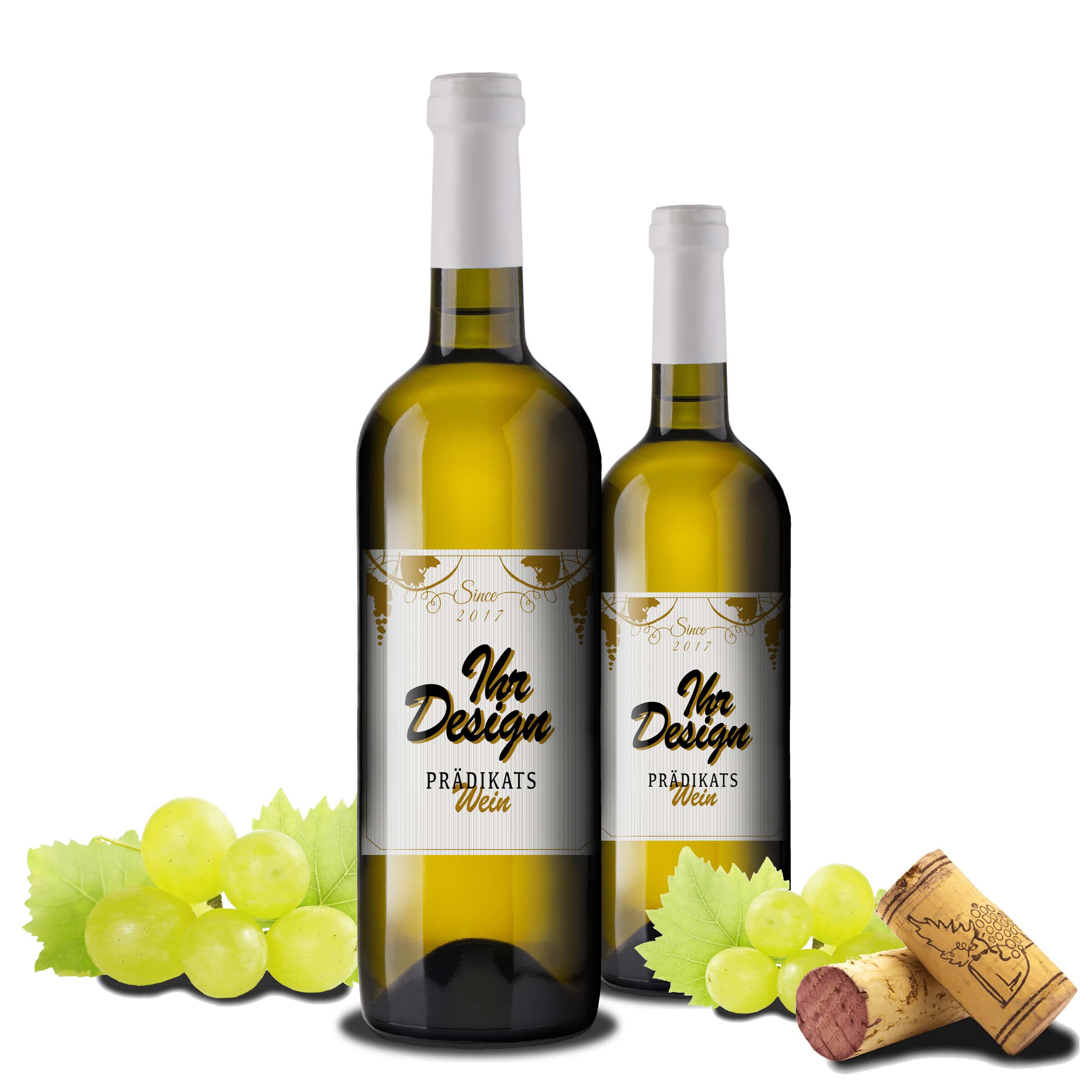 Weisswein mit logo