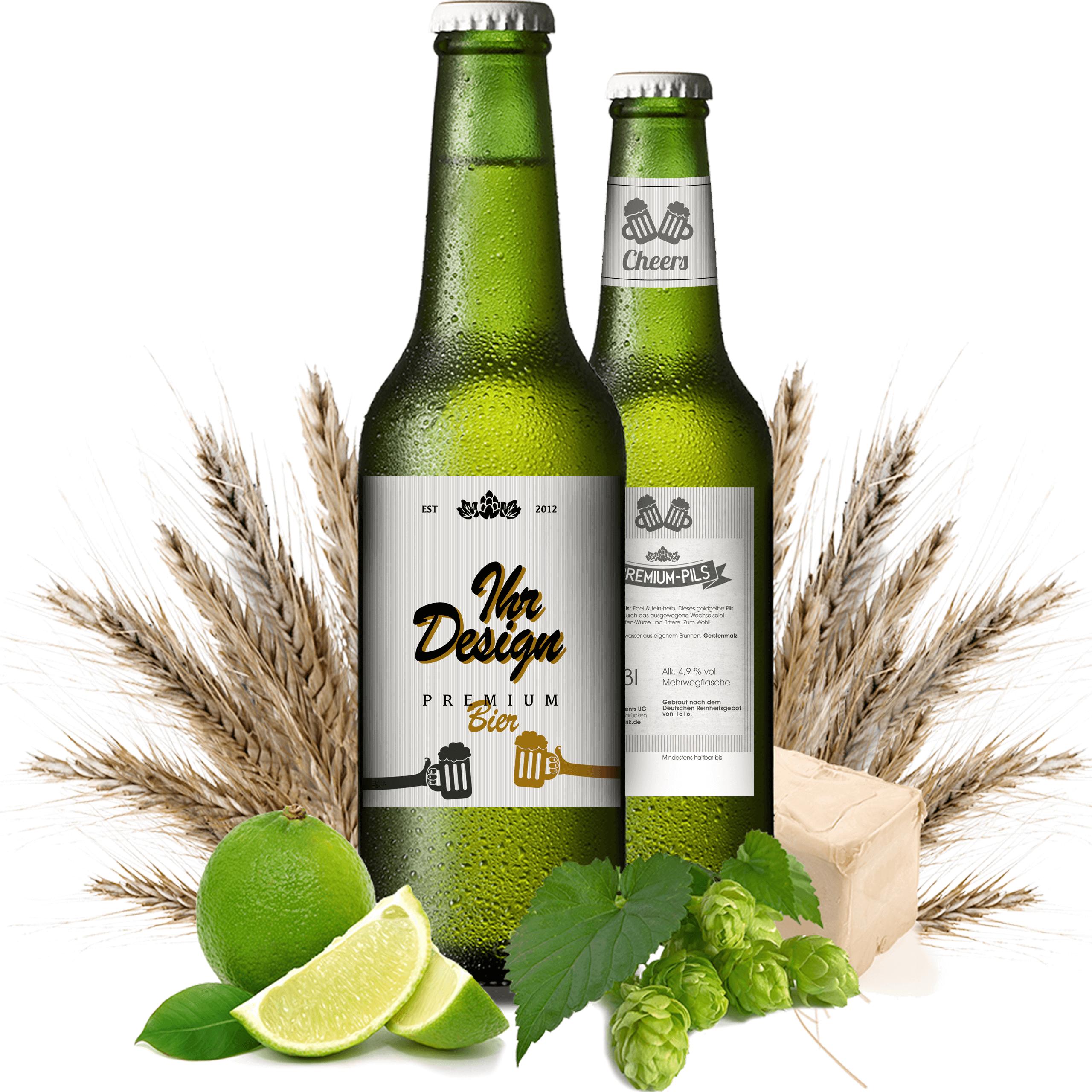 Premium bier personalisiert