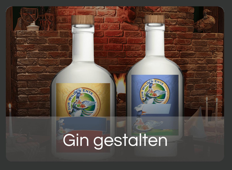 Eigenen Gin gestalten