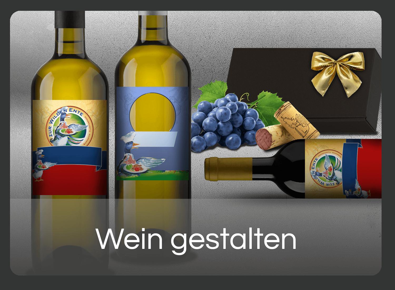Eigenen Wein gestalten