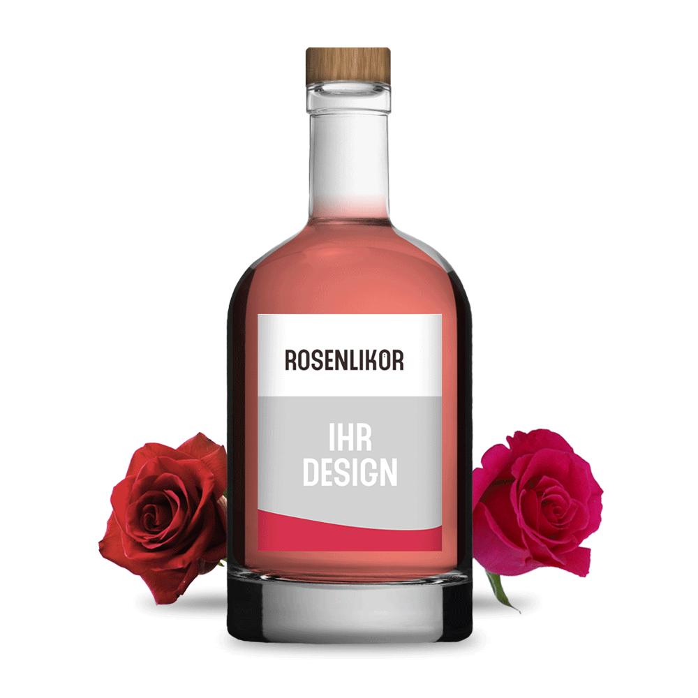 Werbemittel shop rosenlikoer