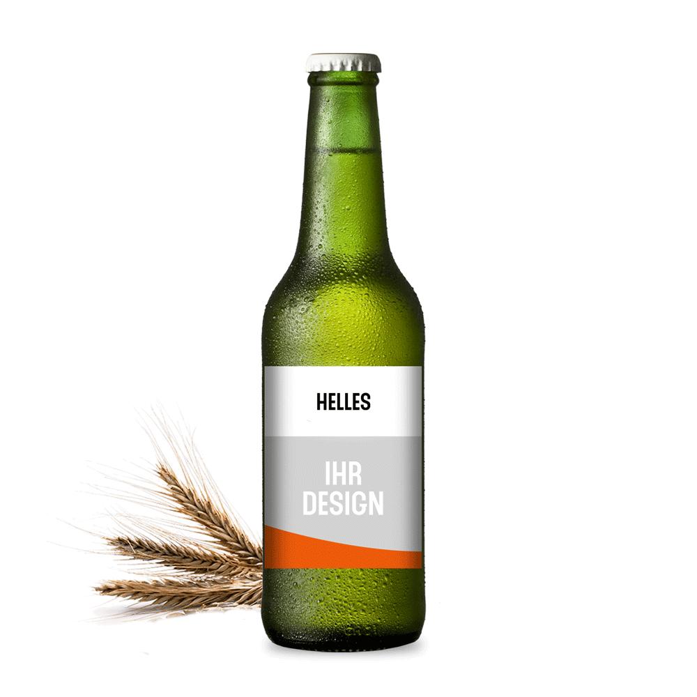 Werbemittel shop bier helles