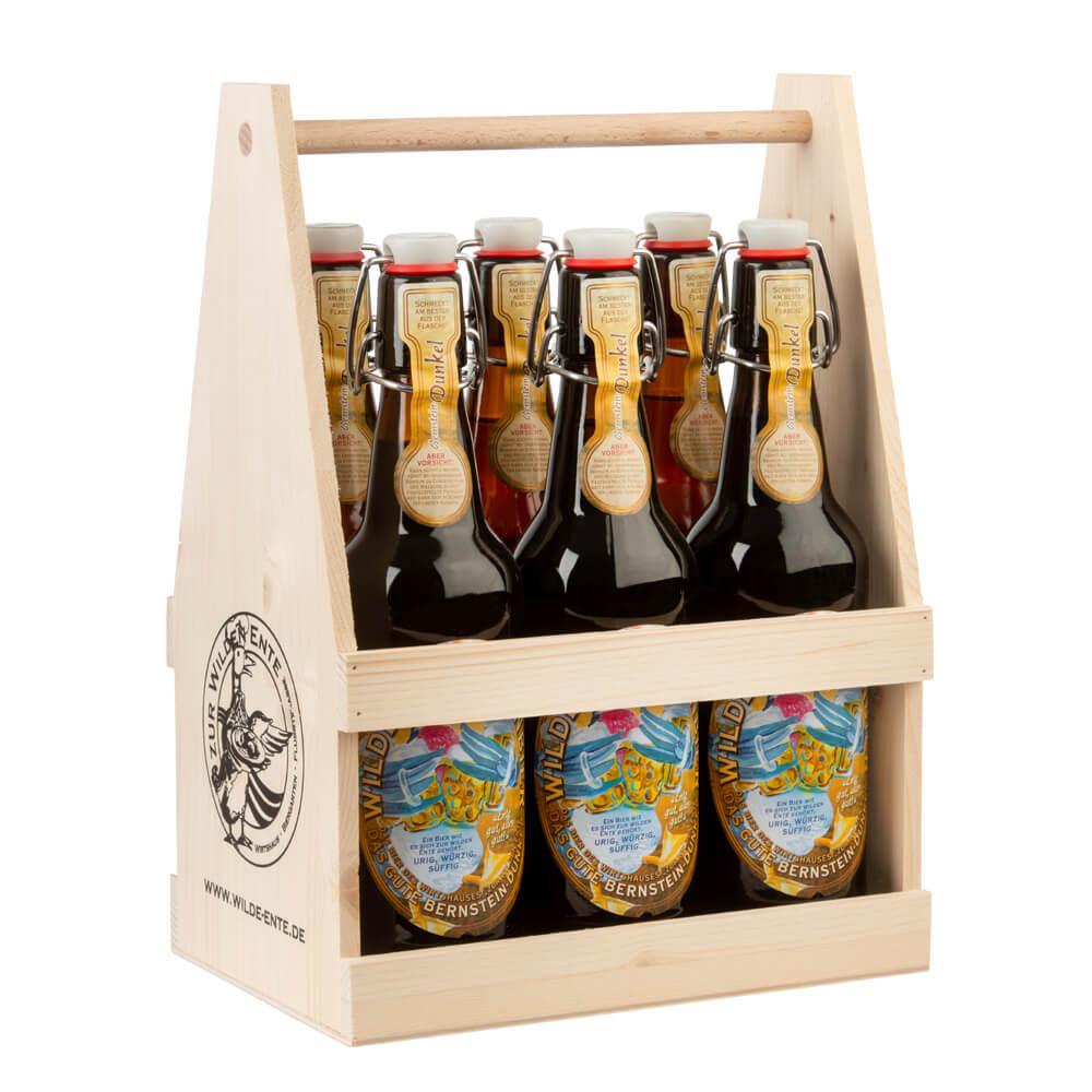 Enten bier dunkel 6er
