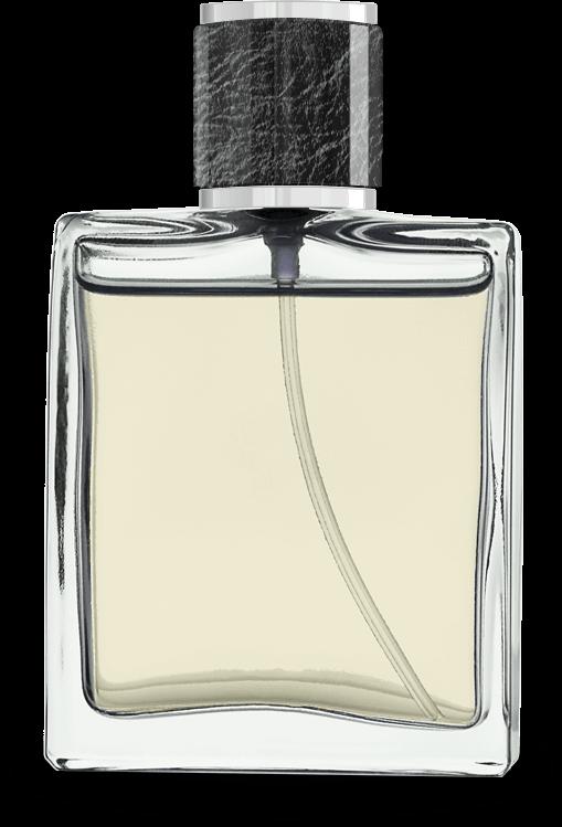 Parfumflasche masc gelb