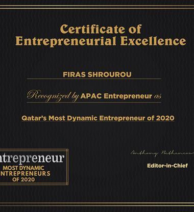 Qatar's Most Dynamic Entrepreneur