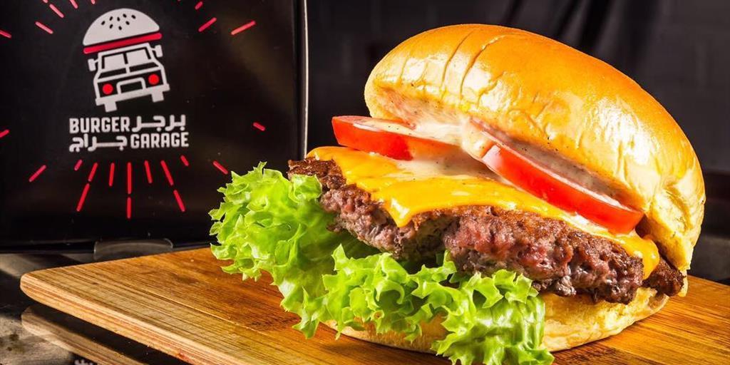 "Burger Garage ""New subscriber"""