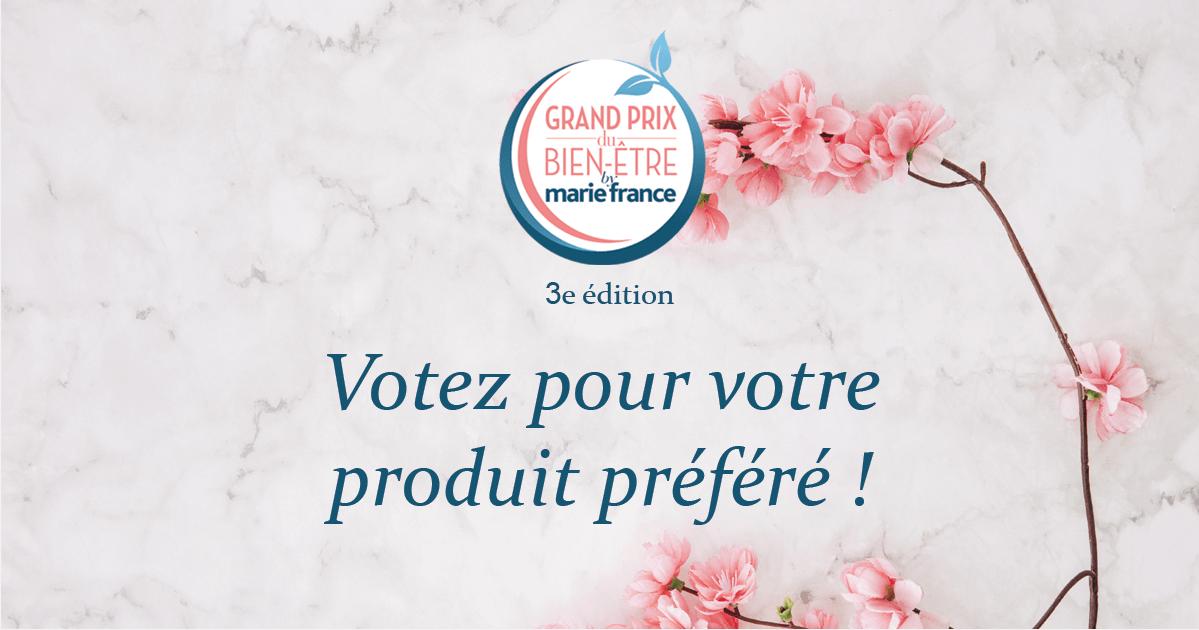Grand Prix du bien-être by Marie France: Mon Panier Minceur nominé