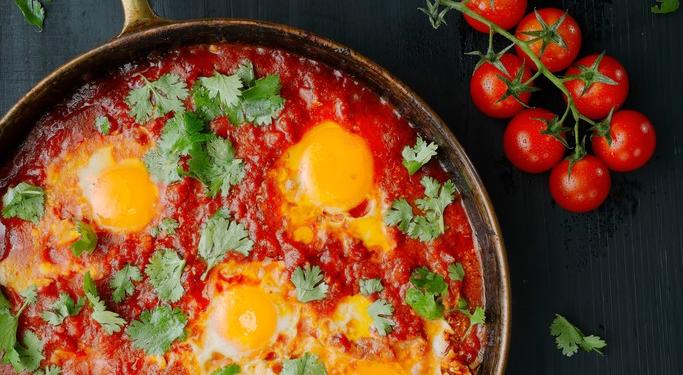 Recette Journée Off : Chakchouka aux œufs sauce Tamari