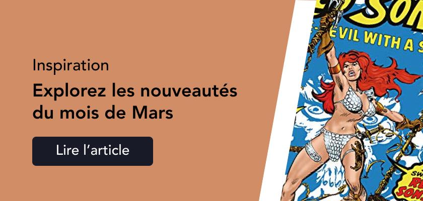 Sorties Mars