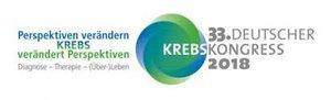 33. Deutschen Krebskongress zeitgleich mit dem Krebsforum der Industrie 2018